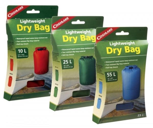 COGHLANS Lightweight Dry Bag in 3 Größen und Farben