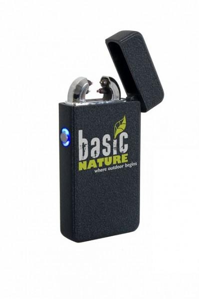 BasicNature Feuerzeug Arc USB schwarz