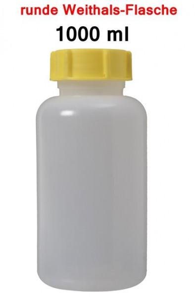 BasicNature Weithalsflasche rund 1000 ml