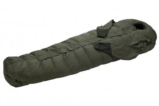 CARINTHIA® Schlafsack Survival Down 1000 (Winterschlafsack mit Ärmeln und Hochklapp-Funktion)