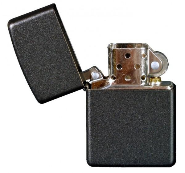 Zippo Schwarz Feuerzeug