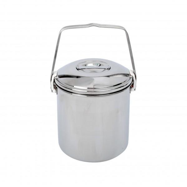 BasicNature Edelstahl-Topf Billy Can 1,4 Liter