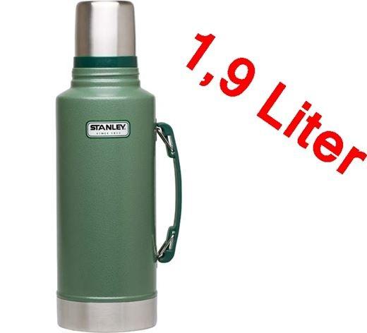 STANLEY Vakuum Flasche Classic mit Langzeitisolierung (1,9 Liter)