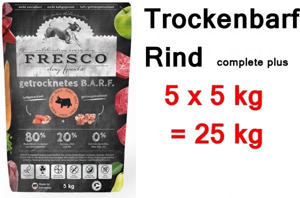 FRESCO Trockenbarf Rind complete plus 25 kg