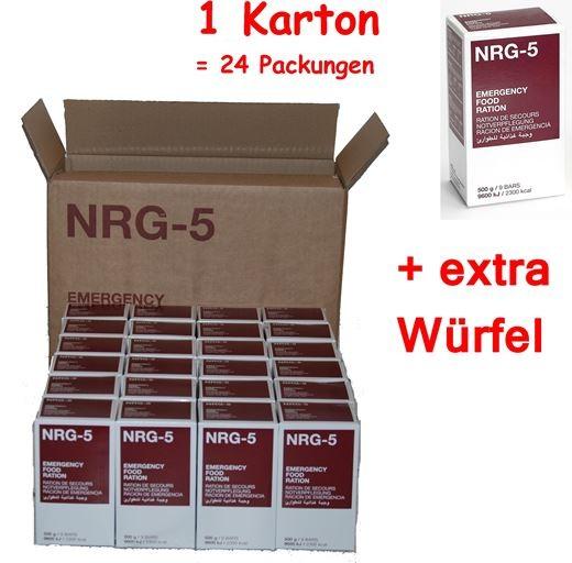 MSI NRG-5 Notration 24x500g Vorteilspack MIT extra Würfel