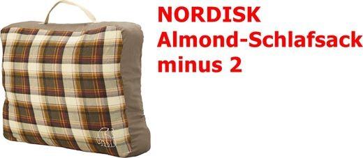 Schlafsack Almond minus 2 von Nordisk