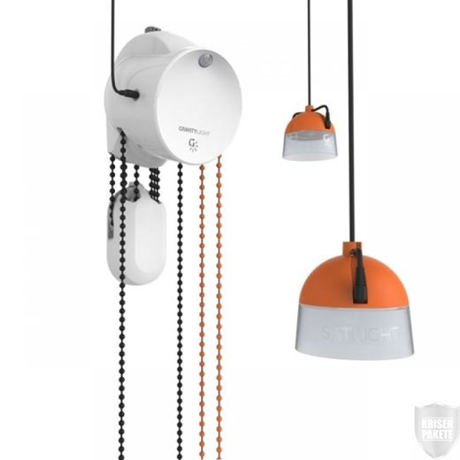 GravityLight GL02 Home System (Schwerkraft-Lampe)