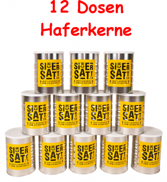 SicherSatt Haferkerne
