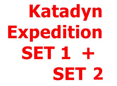 KATADYN Expedition SET 1 und SET 2