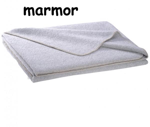 STEINER ALINA - Alpaka plus Merino Wolldecke marmor