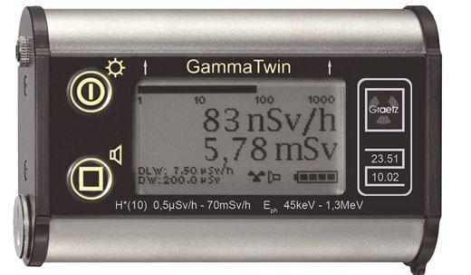 Dosisleistungsmessgerät GRAETZ GammaTwin