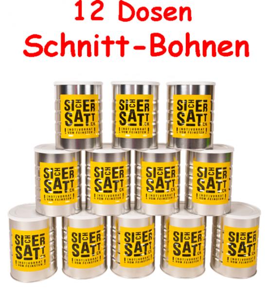 SicherSatt Schnittbohnen