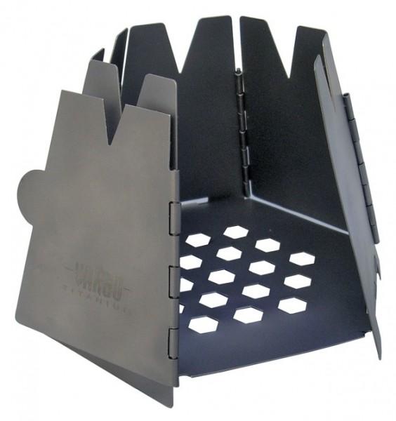 VARGO Falt-Holzofen Hexagon Titan