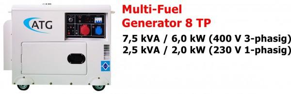ATG Multifuel 8TP Stromgenerator ... drei-phasig