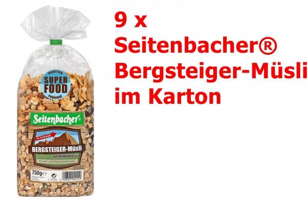 9 x Seitenbacher Bergsteiger Muesli im Karton