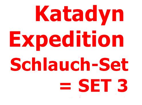 KATADYN Expedition Schlauch-SET = SET 3