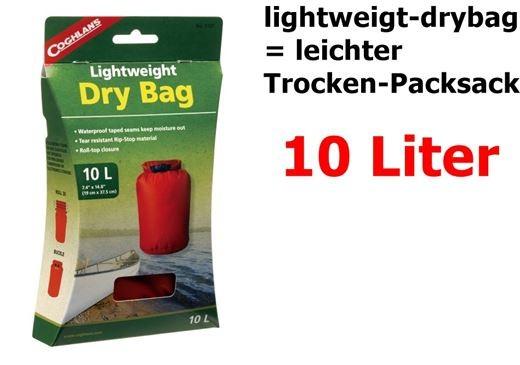 COGHLANS Lightweight Dry Bag 10 Liter