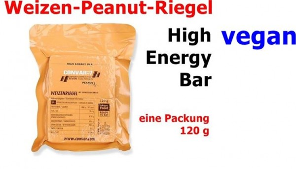 CONVAR-7 High Energy Bar - Peanut 120 g