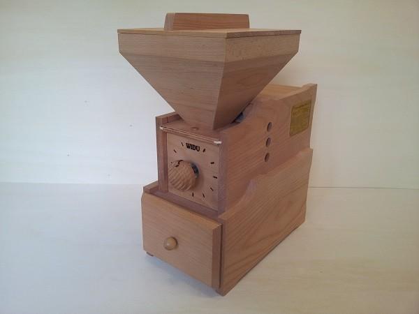 Widu® Universalmühle Modell 3 Buche MIT Kurbel und Ritzel