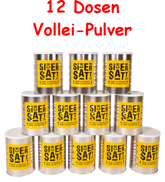 SicherSatt Volleipulver in der Dose