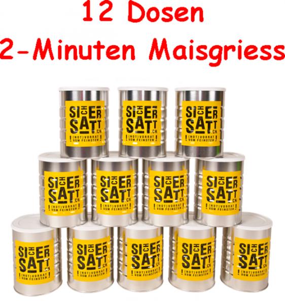 SicherSatt 2-Minuten Maisgriess