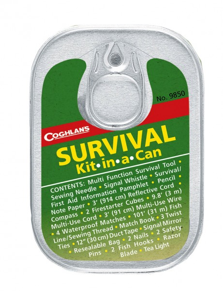 "Coghlans Survival Kit in der Dose ""Kit in a Can"""