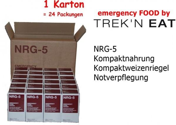 NRG-5 Notverpflegung Notration Notnahrung 24 x 500 g = 1 Karton