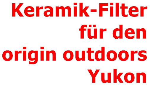 origin OUTDOORS Akktivkohle-Ersatzfilter für Wasserfilter fairbanks