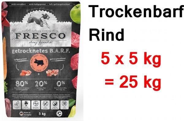 FRESCO Trockenbarf Rind 25 kg