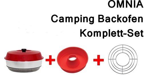 Omnia Camping Backofen-Komplett-Set
