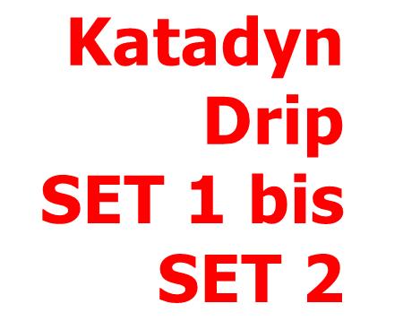 KATADYN Drip SET 1 bis SET 2