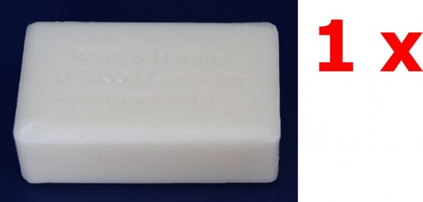 Weiss und Hermle Kernseife rein 1 x 100 g