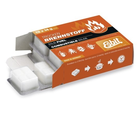 ESBIT® Trockenbrennstoff Tabletten 12 x 14 g