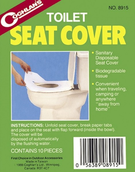 COGHLANS Toilettenauflagen (10 Auflagen)