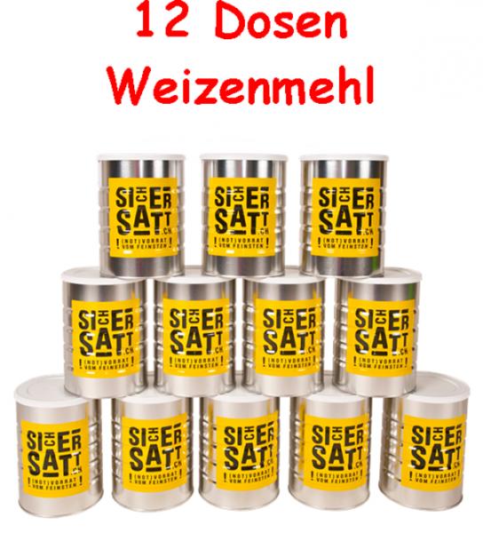 SicherSatt Weizenmehl