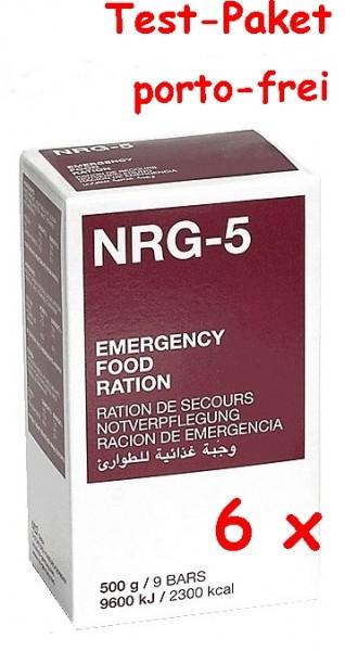 6 x MSI NRG-5 Notration 500g ... Probier-Pack