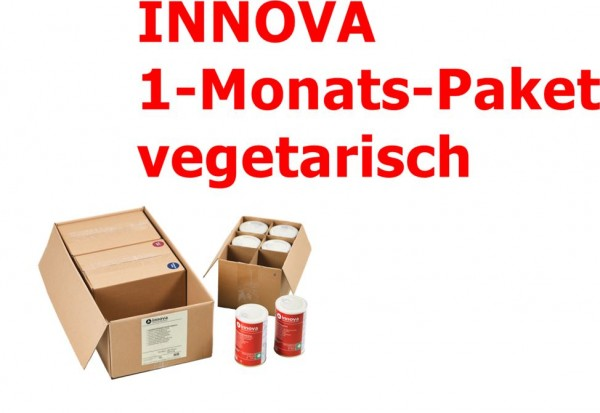 innova 1 Monats-Paket vegetarisch