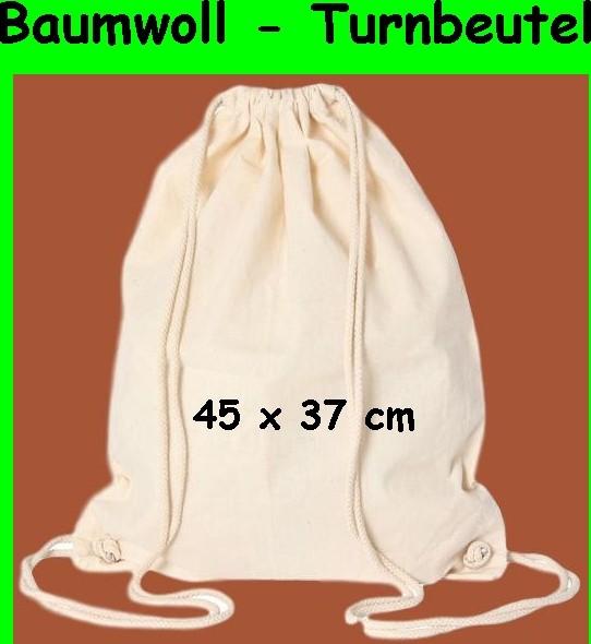 BARTL Baumwoll Turnbeutel