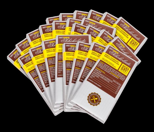SicherSatt Notvorrat Schokolade 25 x 100 g