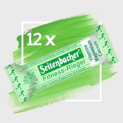 12 x Seitenbacher Fitness-Riegel OHNE Schokolade = eine Box