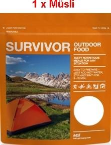 1 x Survivor® Outdoor Food Müsli Schweizer Art