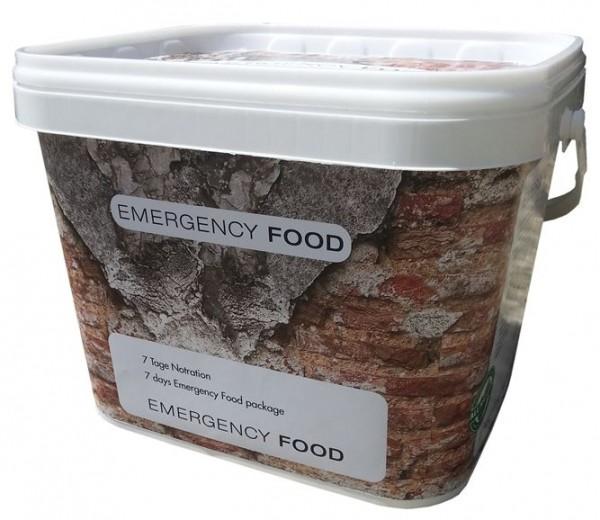 Emergency Food 7 Tage Notration - ideal für Einsteiger
