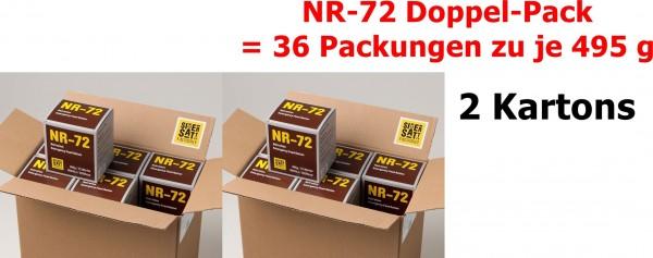 SicherSatt Notration NR-72 ... 36 x 495 g = zwei Kartons