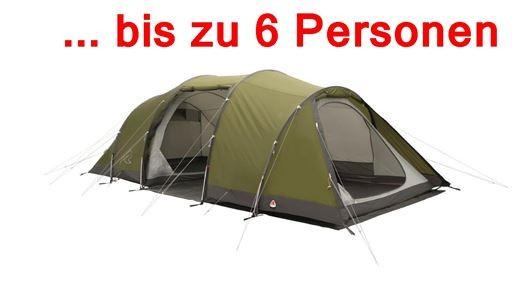 ROBENS Zelt GreenCastle 6 Personen