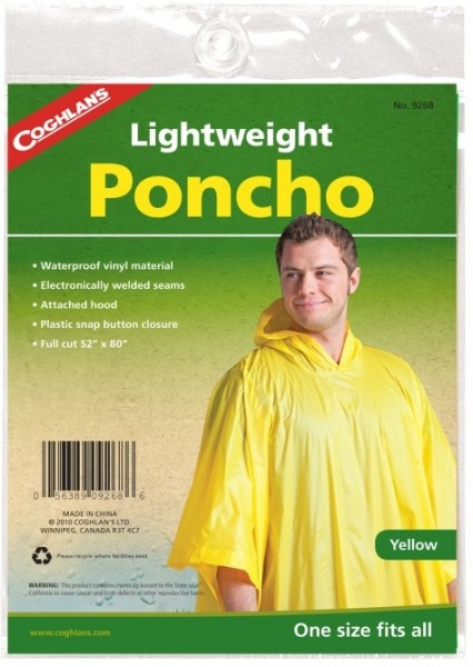 COGHLAN`s Leicht Poncho