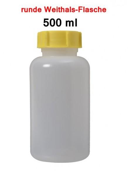 BasicNature Weithalsflasche rund 500 ml