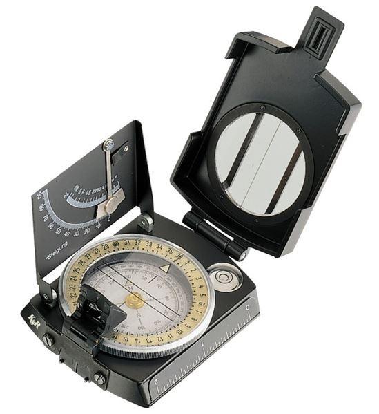 K&R Kompass Meridian Pro MIT Leucht-Skala