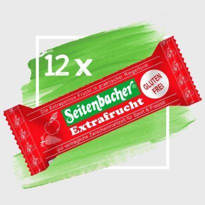 12 x Seitenbacher Extra-Frucht Riegel OHNE Schokolade = eine Box-Copy