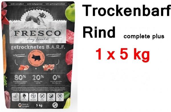 FRESCO Trockenbarf Rind complete plus 5 kg