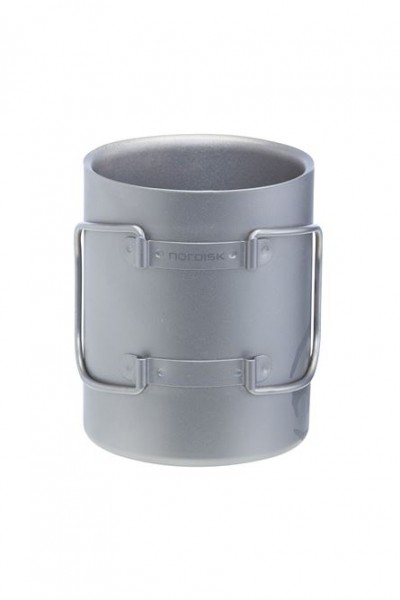 Nordisk Titanium Mug Double Wall 450 ml